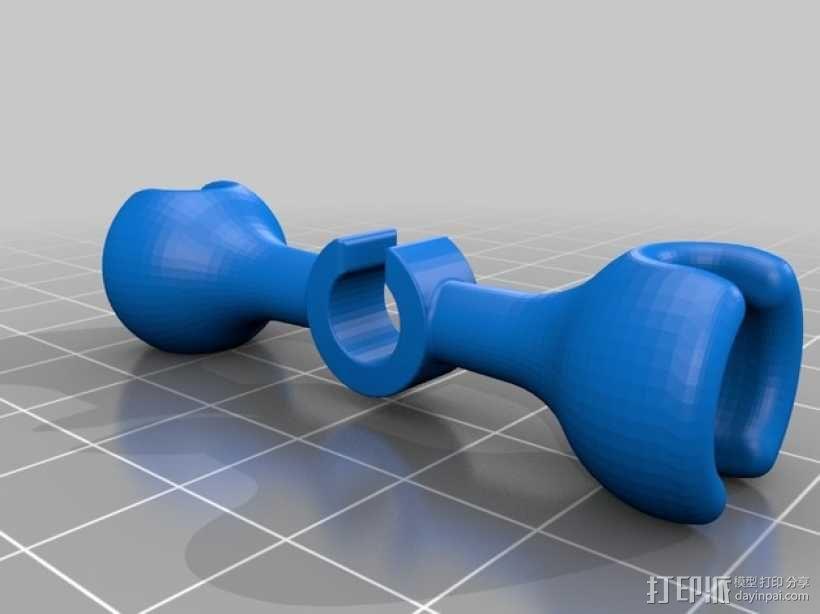 旋转机器人 3D模型  图3