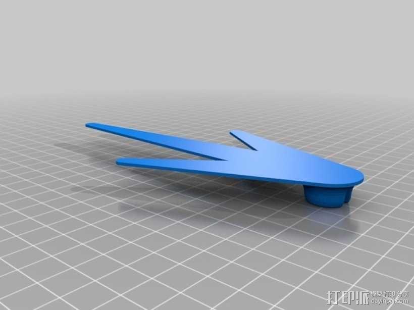 Ogo大脚机器人 3D模型  图2
