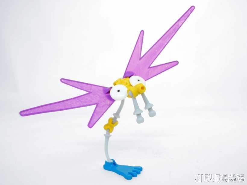 Ogo大脚机器人 3D模型  图1