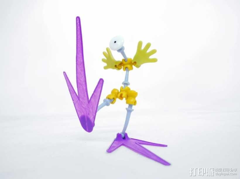 Ogo大脚机器人 3D模型  图3