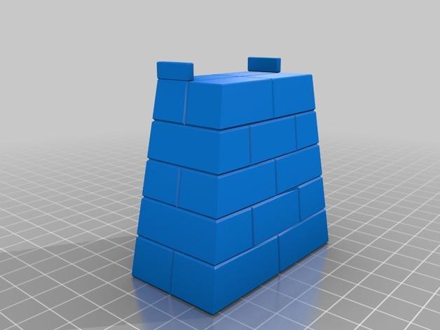 玩具火车桥 3D模型  图2