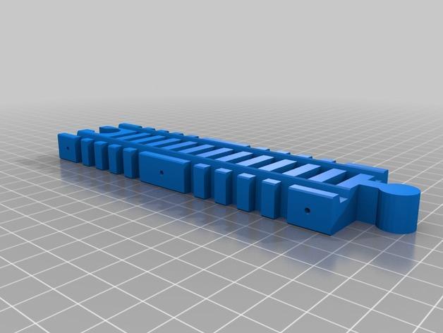 玩具火车桥 3D模型  图3