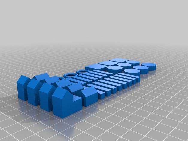 卡坦岛扩充器 3D模型  图2