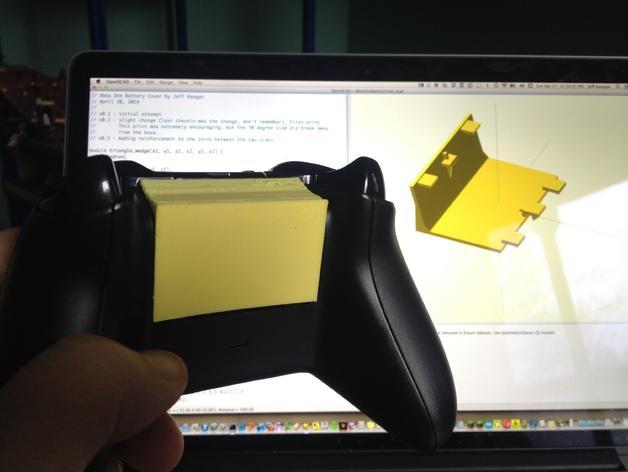 Xbox电池盖 3D模型  图9