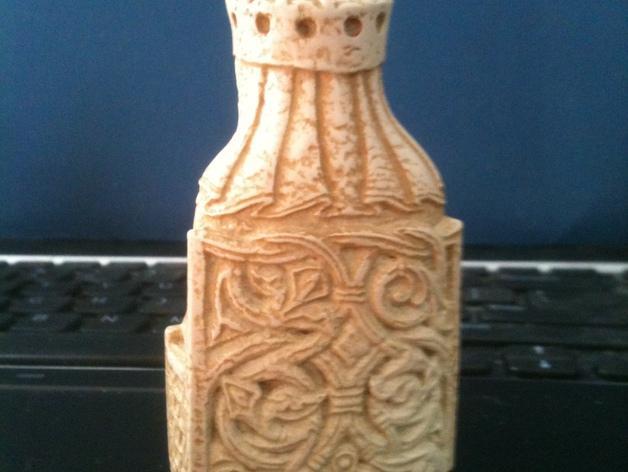 路易斯象棋:王后 3D模型  图2
