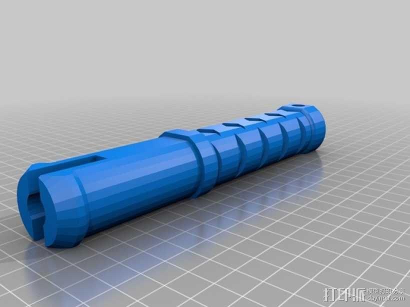 迷你铁锤模型 3D模型  图1