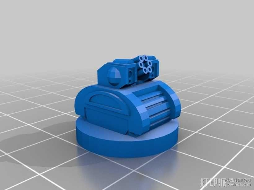 Pocket-Tactics:分裂民兵 3D模型  图4