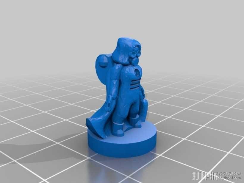 Pocket-Tactics:分裂民兵 3D模型  图8