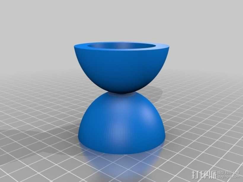 参数化溜溜球 3D模型  图5