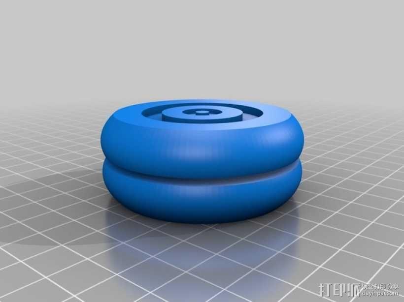 参数化溜溜球 3D模型  图14