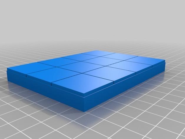 OpenForge平滑地砖 3D模型  图5