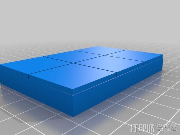 OpenForge平滑地砖 3D模型  图8
