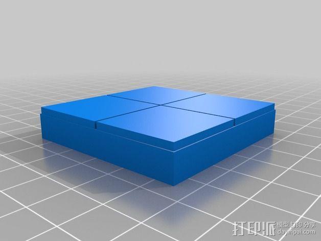OpenForge平滑地砖 3D模型  图9