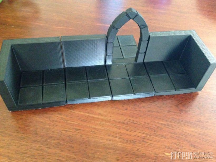 边缘平滑的拱门模型 3D模型  图3
