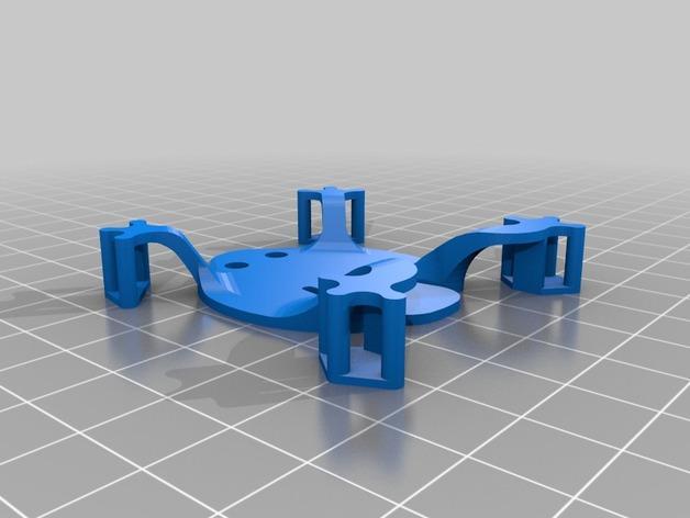 扁平的弹跳蛙 3D模型  图3
