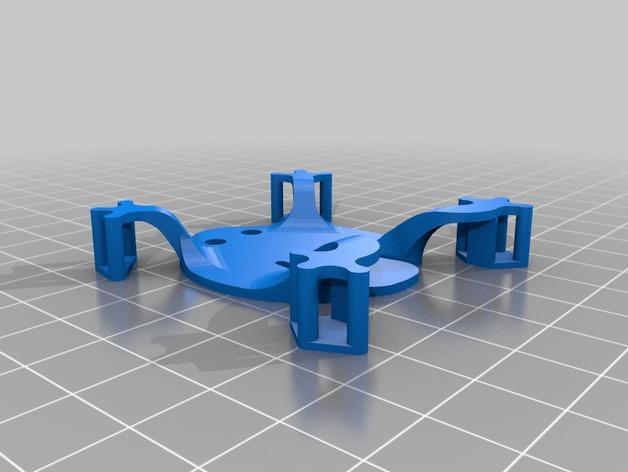 扁平的弹跳蛙 3D模型  图2