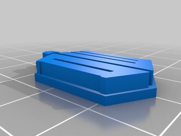 神秘博士钥匙扣 3D模型  图2