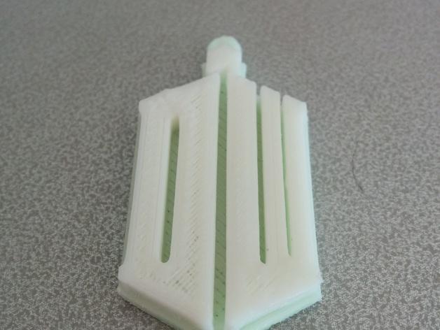 神秘博士钥匙扣 3D模型  图3
