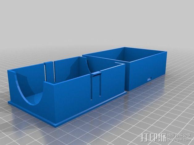 不同型号的游戏卡盒 3D模型  图2