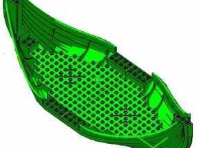 乐高加列战船 3D模型