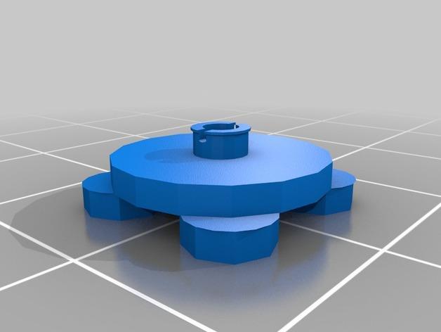 乐高加列战船 3D模型  图2