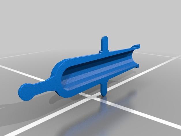 乐高加列战船 3D模型  图9