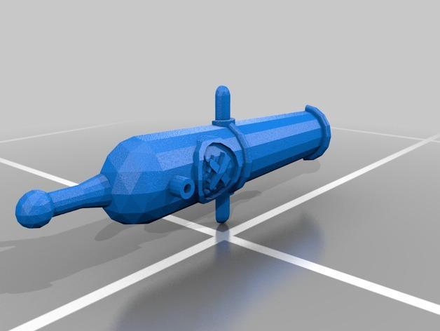 乐高加列战船 3D模型  图7