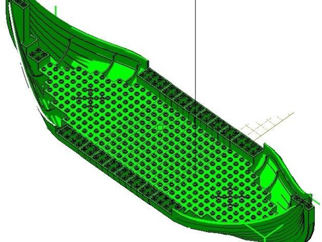 乐高加列战船 3D模型  图15