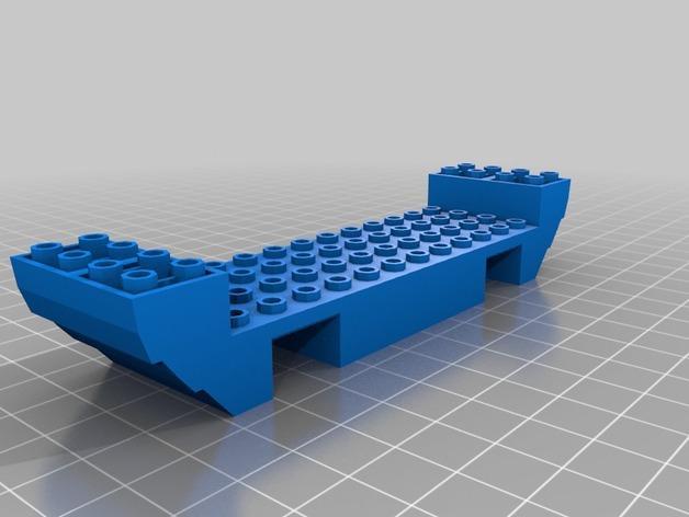 乐高加列战船 3D模型  图16