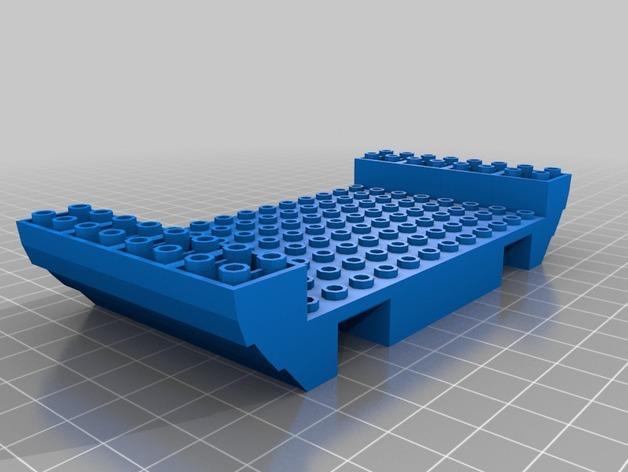乐高加列战船 3D模型  图17