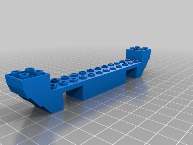 乐高加列战船 3D模型  图19