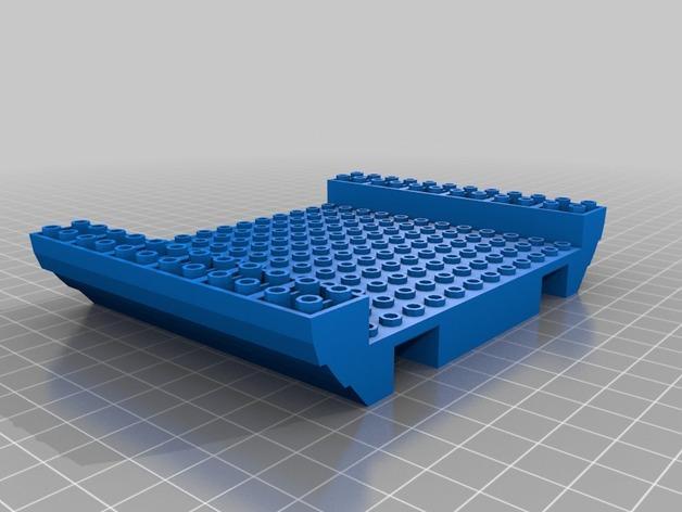 乐高加列战船 3D模型  图18
