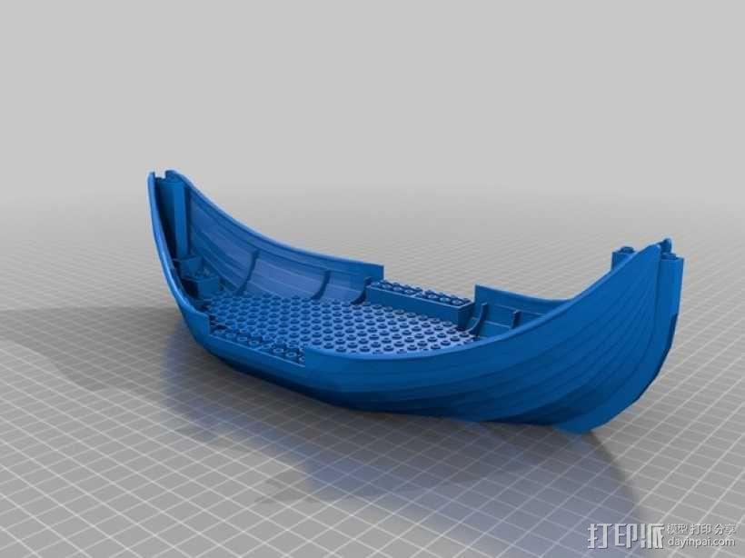 乐高加列战船 3D模型  图20