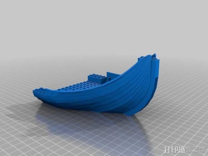乐高加列战船 3D模型  图21