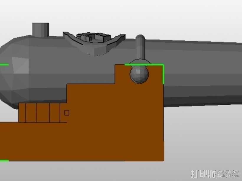 乐高加列战船 3D模型  图22