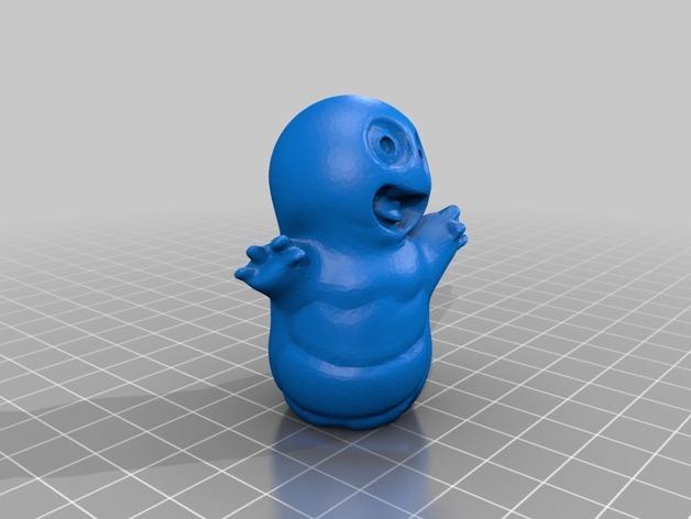 迷你手指布偶模型 3D模型  图2