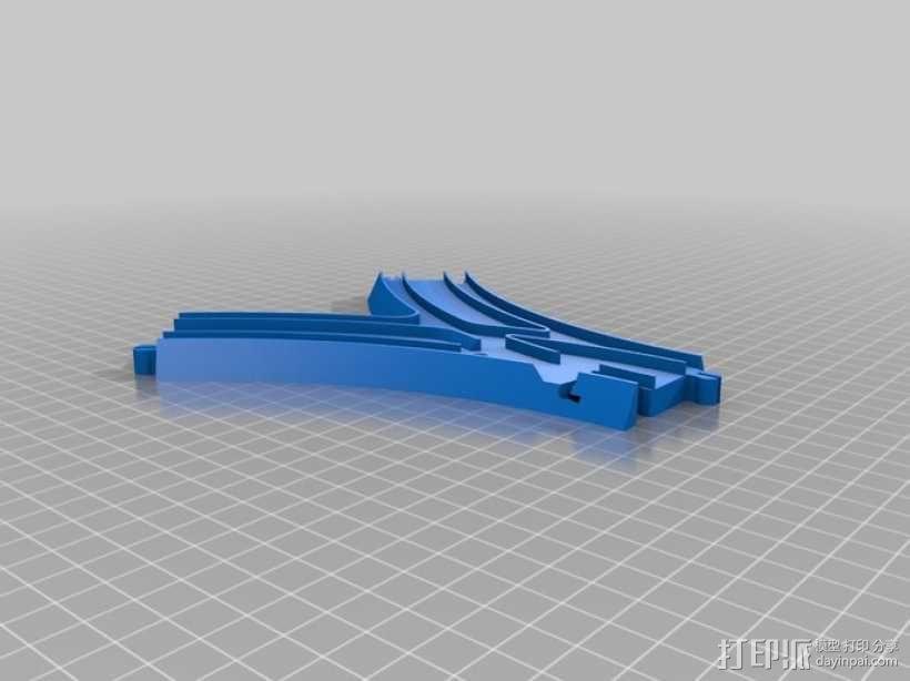 汤玛士玩具火车分离器 3D模型  图2