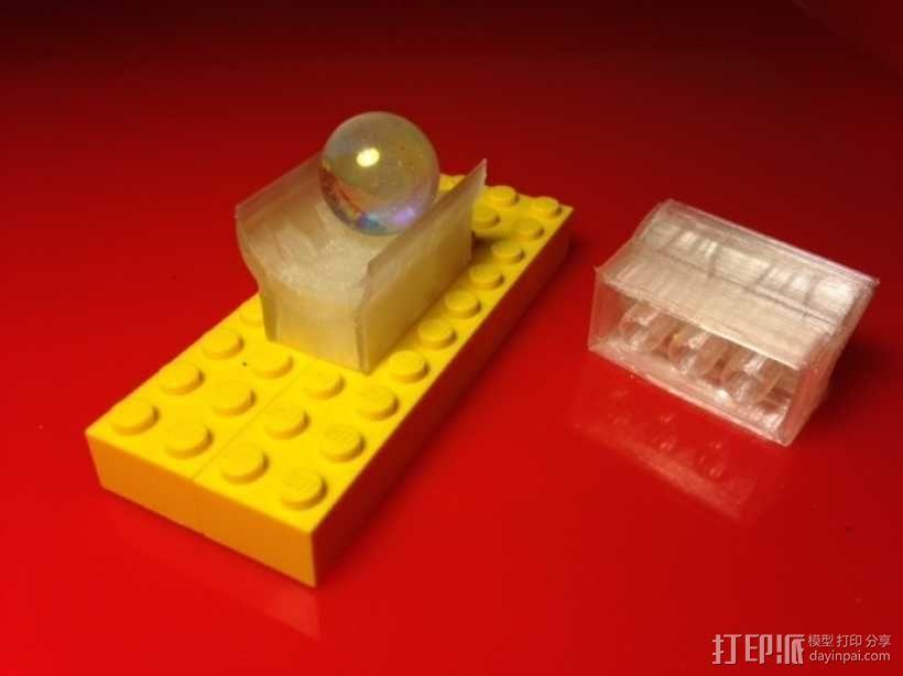 乐高滚珠运行轨道 3D模型  图1