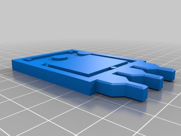 RobCo处理器零部件 3D模型  图1
