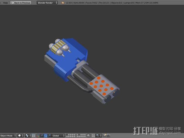 无畏战舰零部件模型 3D模型  图2