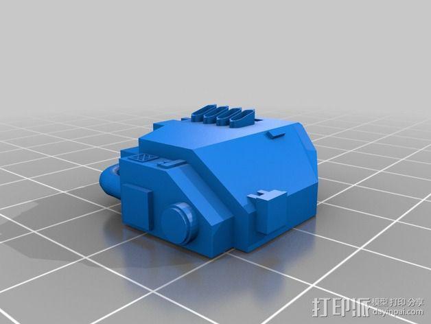 无畏战舰零部件模型 3D模型  图8