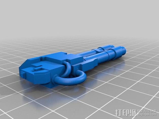 无畏战舰零部件模型 3D模型  图7