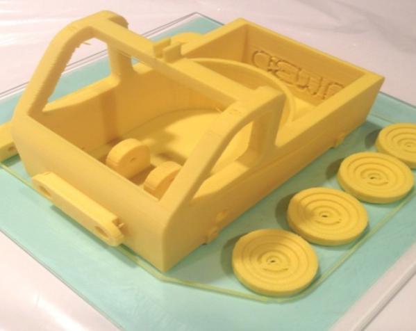 车形弹射器 3D模型  图2