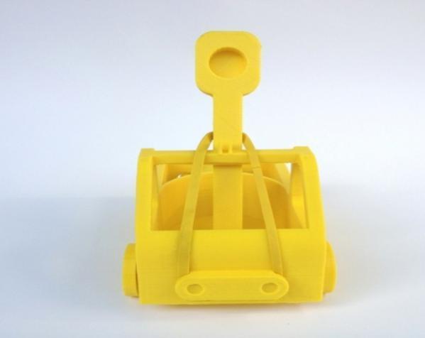 车形弹射器 3D模型  图4