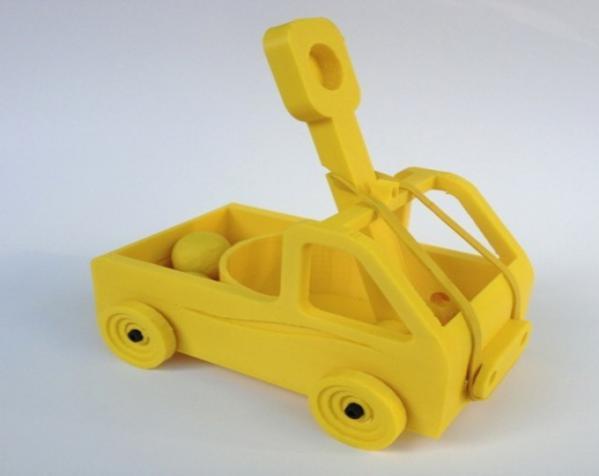 车形弹射器 3D模型  图5