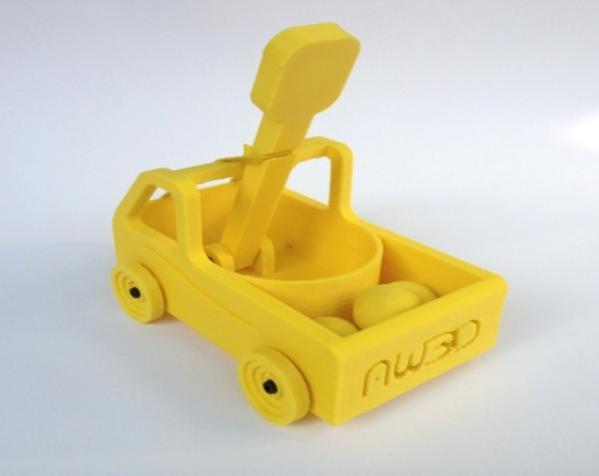 车形弹射器 3D模型  图3