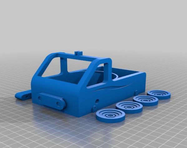 车形弹射器 3D模型  图6