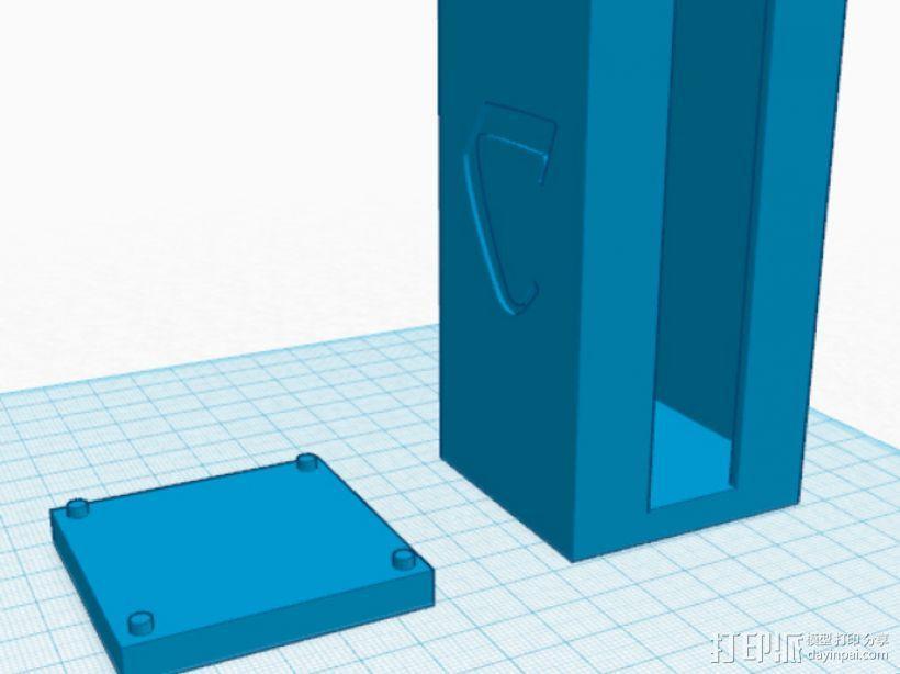 卡卡颂卡片收纳盒 3D模型  图1
