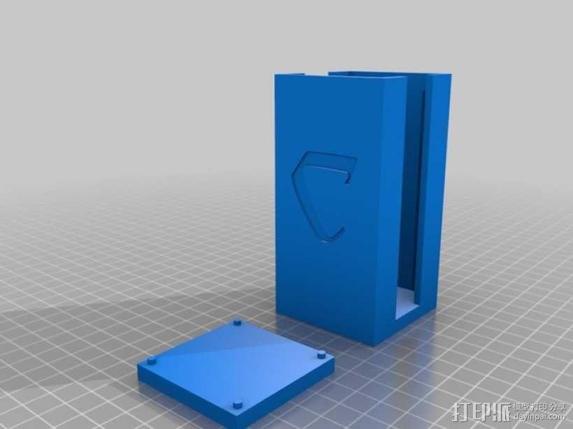 卡卡颂卡片收纳盒 3D模型  图3