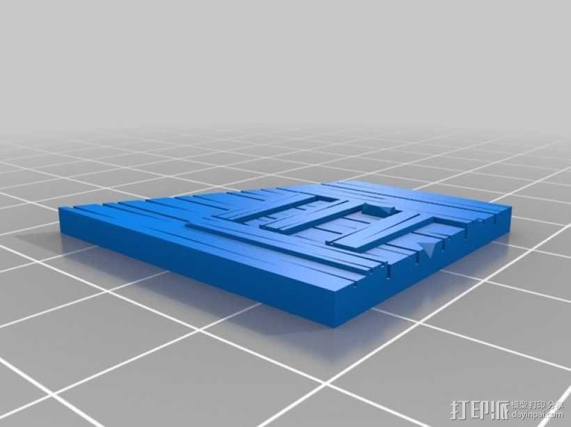 战争游戏:农舍 3D模型  图6